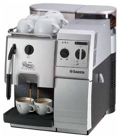Выдает ошибку кофемашина Saeco